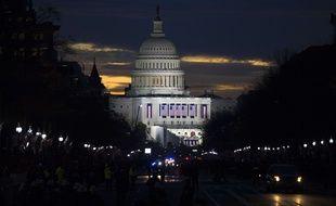 Illustration: Le Capitole, à Washington, le 20 janvier 2017.