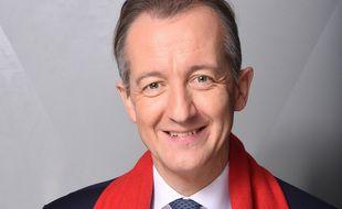 Christophe Barbier à l'enregistrement des Grands du Rire en 2018