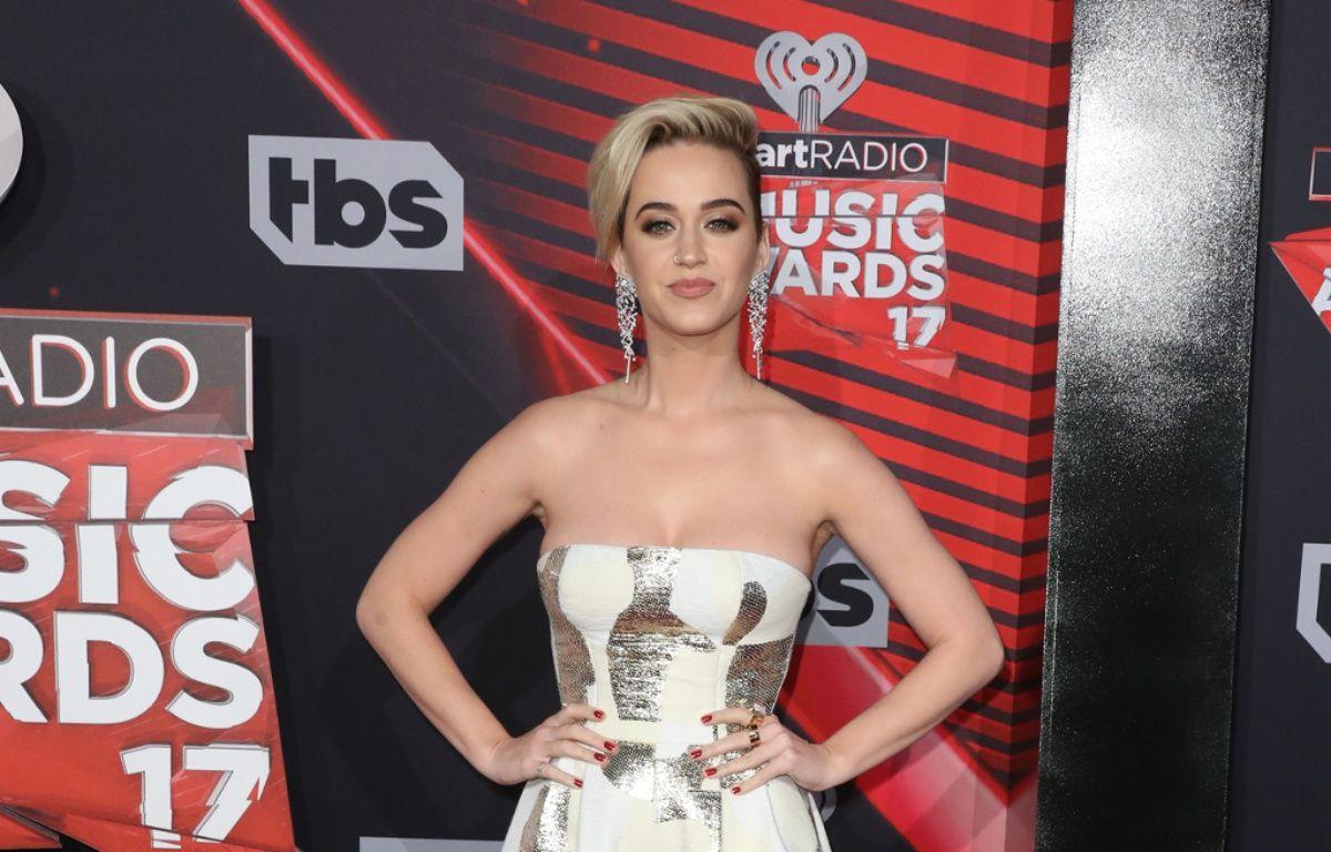 La chanteuse Katy Perry aux iHeartRadio Music Awards 2017 – WENN
