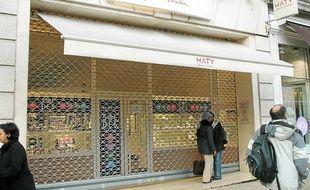 La bijouterie Maty a été attaquée deux fois au cours de l'année 2011.
