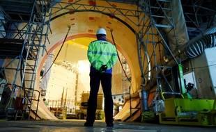 La construction de l'EPR de Flamanville a déjà pris des années de retard.