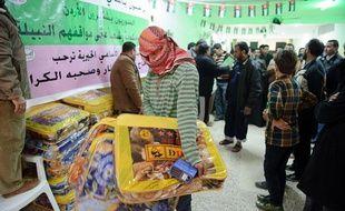 Le centre islamique d'Al-Mafraq, en Jordanie, accueille chaque semaine des centaines de réfugiés syriens.