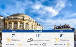 Météo Rennes: Prévisions du samedi 17 avril 2021