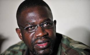 Ibrahim Coulibaly, le chef du «commando invisible», le 19 avril 2011 à Abidjan (Côte d'Ivoire).