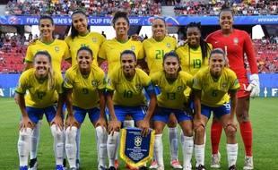 L'équipe brésilienne en coupe du monde