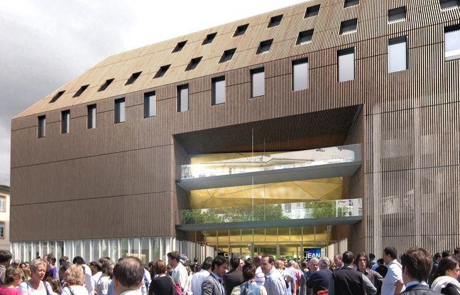 Projection du nouveau bâtiment.