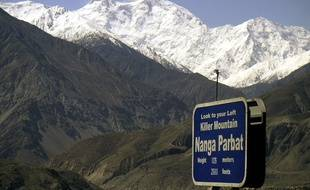 Le Nanga Parbat en 2004.