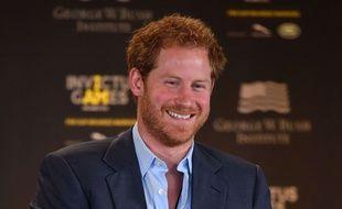 Le prince Harry, le 8 mai 2016.