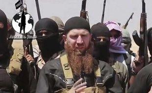 Image extraite d'une vidéo postée sur les réseaux sociaux par un compte utilisé par Daesh, le 28 juin 2014.