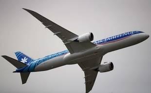 Un Boeing 787-9 Dreamliner de la compagnie Air Tahiti, au Bourget le 18 juin 2019.