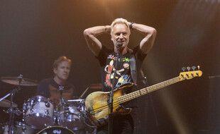 Le musicien Sting