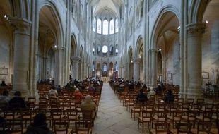 Une église à Mantes la Jolie, le 29 novembre 2020.