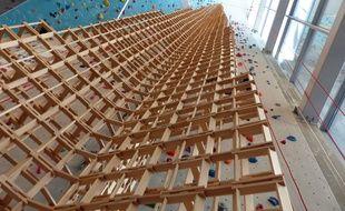 La plus haute tour du monde en Kapla est Lyonnaise.