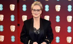 Meryl Streep sur la scène des BAFTAs