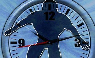 Illustration de notre horloge interne.
