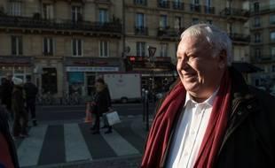 Gérard Filoche, membre du PS, le 17 décembre à Paris.