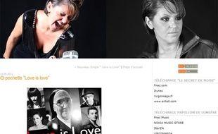 Capture d'écran d'un post du blog cindysander.m6blog.fr consacré à la chanson «Love is love» contre l'illettrisme.