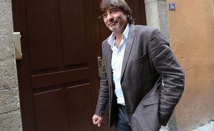 LYON, le 19/09/2014 Michel NEYRET, ancien numéro 2 de la PJ de Lyon, à la sortie du procès du cambriolage Global Cash où il était entendu comme témoin. Fabrice Elsner/SIPA.