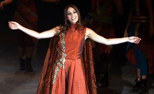 L'artiste libanaise Hiba Tawaji, ici sur scène à Dubaï dans «Le retour du phoenix» en 2008, est Esmeralda dans la version 2016 de «Notre-Dame-de-Paris».