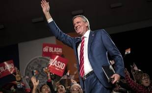 Bill de Blasio le 4 février 2017 à New York.
