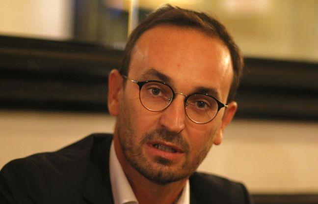 Thomas Cazenave, candidat LREM à la mairie de Bordeaux