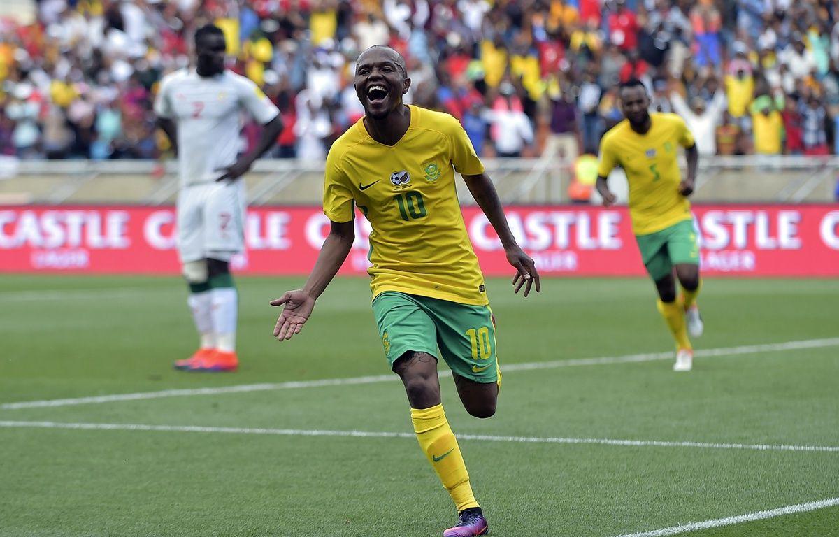 Les Bafana-Bafana ont gagné le match grâce à une erreur d'arbitrage – STRINGER / AFP