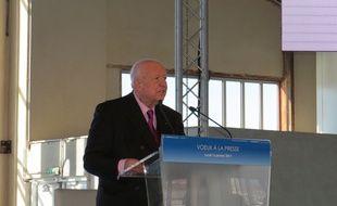 Jean-Claude Gaudin au cours de la cérémonie