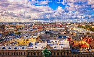 Saint Pétersbourg, en Russie