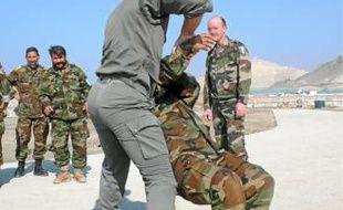 Des militaires français forment l'armée afghane (archives).