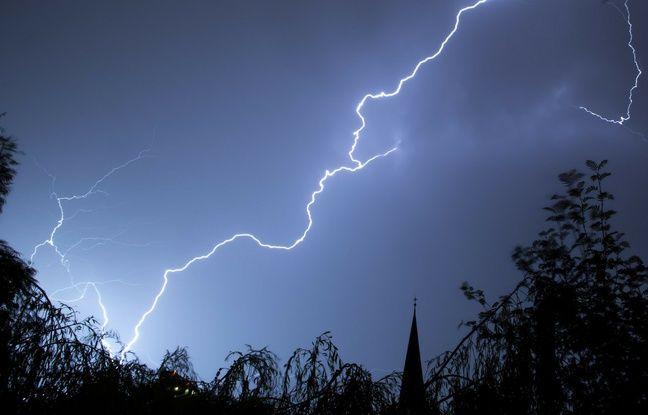 Alerte aux vents violents et aux orages dans 18 départements, dont 16 du grand Sud Ouest
