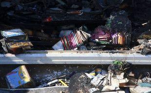 L'école incendiée à Béziers le 31 octobre