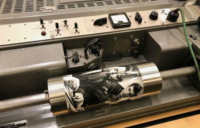 Ancêtre du fax, le Bélinographe servait à transférer des photos.