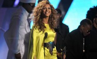 Beyoncé au BET Awards, le 1er juillet 2012, à Los Angeles.