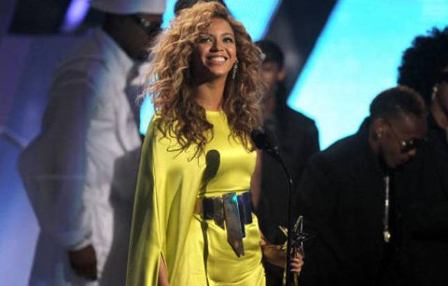 Beyoncé au BET Awards, le 1er juillet 2012, à Los Angeles.
