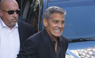 L'acteur George Clooney à Toronto