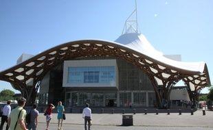Le Centre Pompidou Metz le 30 juin 2015.