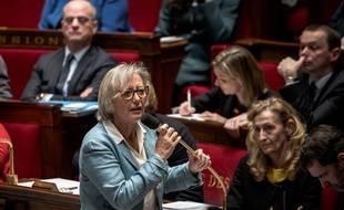 Sophie Cluzel à l'Assemblée nationale, le 11 février 2020.