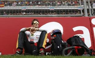 Romain Grosjean au Grand Prix d'Inde 2013