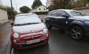 La neige a fait son apparition dans le Val-de-Marne