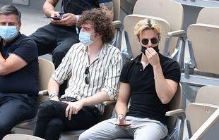 Les membres du groupe Ofenbach, le 9 juin 2021, à Roland-Garros.