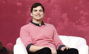 L'acteur Ashton Kutcher au forum The Game Plan: Strategies for Entrepreneurs