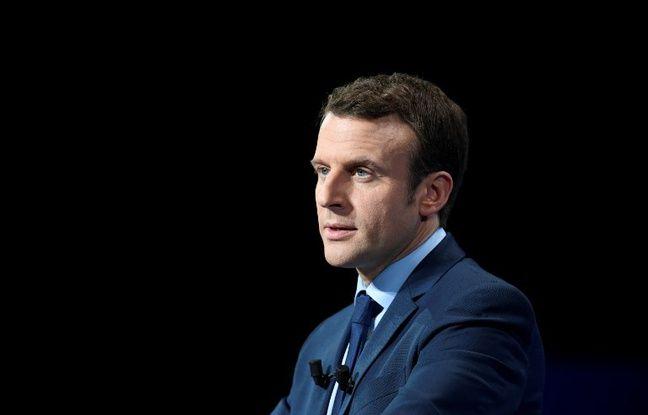 Emmanuel Macron, le leader d'En Marche !
