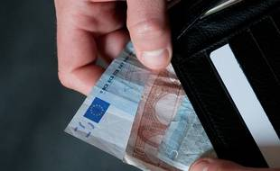 La moitié des habitants de la région perçoivent moins de 1679 euros par mois. (illustration)