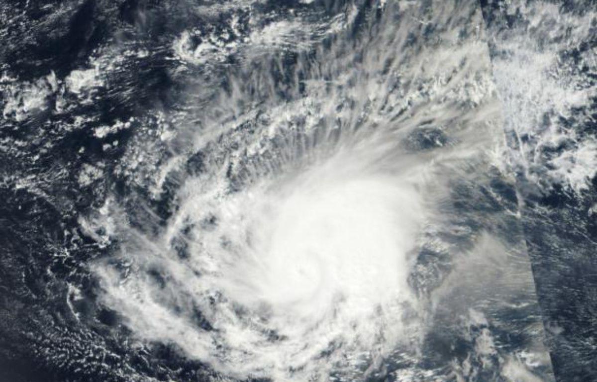 Photo de l'ouragan Pali, dans le Pacifique, fournie par la Nasa le 13 janvier 2016 – handout NASA