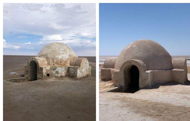 La maison de luke avant et après, pimpée par DTF.