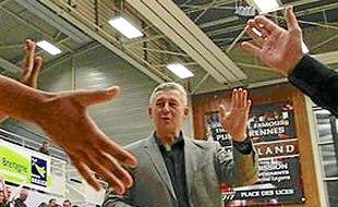 Boris Grebennikov dit au revoir à Rennes.