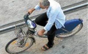 La ville compte mille vélos en libre service.