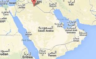 Google map d'Arar, en Arabie saoudite.
