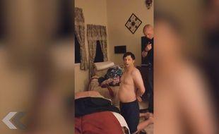 Il découvre sa maison cambriolée... et le voleur dans son lit ! - Le Rewind (video)