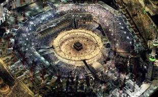 La Grande Mosquée de La Mecque en Arabie Saoudite, le 16 juillet 2015